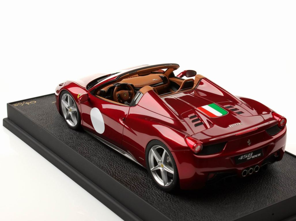 2014 Ferrari 458 Spider >> Ferrari Modelisme - Ferrari 1/18 : MR Models : Retour sur ...