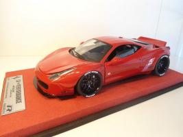 Liberty Walk 458 Italia LB Performance - Robs Replicas 1/18