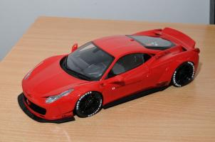 Liberty Walk 458 Italia LB Performance - GT Spirit 1/18
