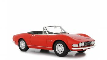 Laudoracing : Preview Q4 2018 : LM117A : Premières photos de la Fiat Dino Spider rouge au 1/18 !