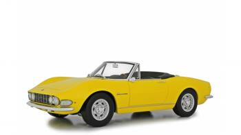 Laudoracing : Preview Q4 2018 : LM117A1 : Premières photos de la Fiat Dino Spider 2000 jaune au 1/18 !