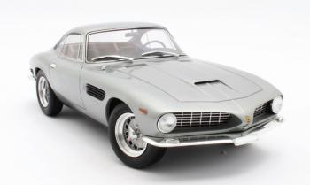 Matrix Scale Models : Preview 2019 : La superbe Ferrari 250 GT Bertone #3269GT en gris prévue au 1/18