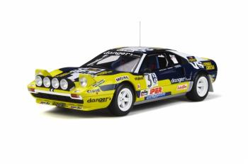 Otto Models : Preview Nov / Dec 2019 : OT657 : Annonce de la Ferrari 308 Groupe 4 Rally 4 Regioni 1981 au 1/18