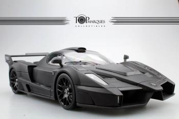 Top Marques : Preview Septembre 2018 : Autres photos de la future Gemballa Enzo MIG-U1 Noir mat au 1/18