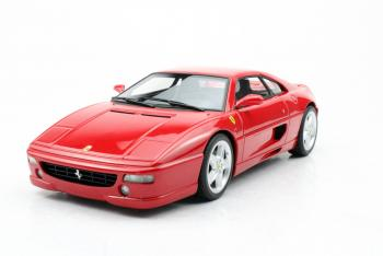 Top Marques : TOP96A : Preview Octobre 2019 : Une Ferrari F355 Berlinetta prévue en rouge au 1/18
