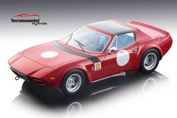Tecnomodel : Preview Juin 2018 : Photos de la Ferrari 365 GTB/4 Michelotti N.A.R.T. 24 Rouge au 1/18