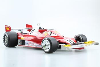 GP Replicas : Preview Juillet 2018 GP14A : Photos de la future superbe Ferrari 312 T2 Niki Lauda Champion du Monde 1977 au 1/18