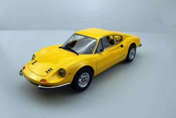 Top Marques : TOP88B : Preview Avril 2019 : Annonce d'une Dino 246 GT en jaune au 1/18