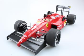 GP Replicas : Preview Juin 2018 : Photos de la future Ferrari 87/88 C du GP d'Italie 1988 Alboreto #27au 1/18