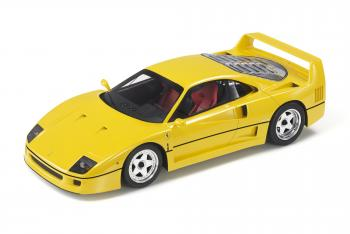 Top Marques : Preview Fev. 2020 : TOP98B : Annonce de la Ferrari F40 en Giallo Modena au 1/18