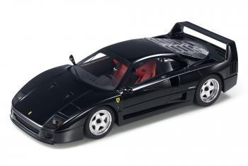 Top Marques : Preview Fev. 2020 : TOP98C : Annonce de la Ferrari F40 en noir au 1/18