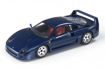 Top Marques : Preview Fev. 2020 : TOP98E : Annonce de la Ferrari F40 en bleu au 1/18