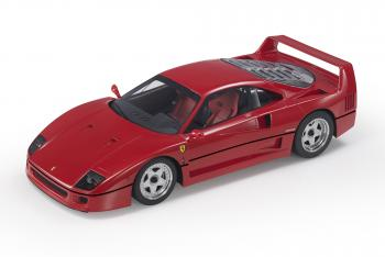 Top Marques : Preview Fev. 2020 : TOP98A : Annonce de la Ferrari F40 en Rosso Corsa au 1/18