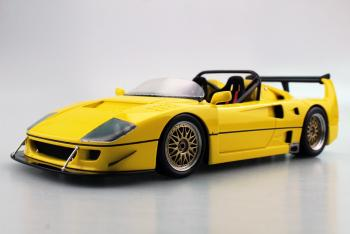 Top Marques : Preview Sept. 2019 : TOP68A : Photos de la future Ferrari F40 Barchetta Beurlys en jaune au 1/18