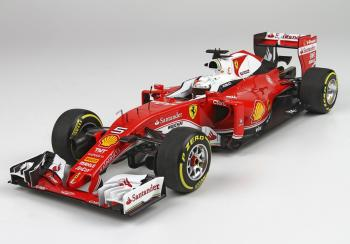 BBR : Preview 2017 : Premières photos de la Ferrari SF16-H Vettel GP Australie au 1/18