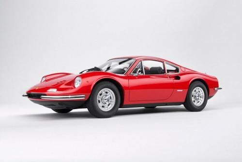 Kyosho : A venir : Dino 246 GT Resin Collection Rouge 1/18