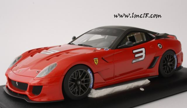 Photos de la Ferrari 599XX de MR Models en rouge #3