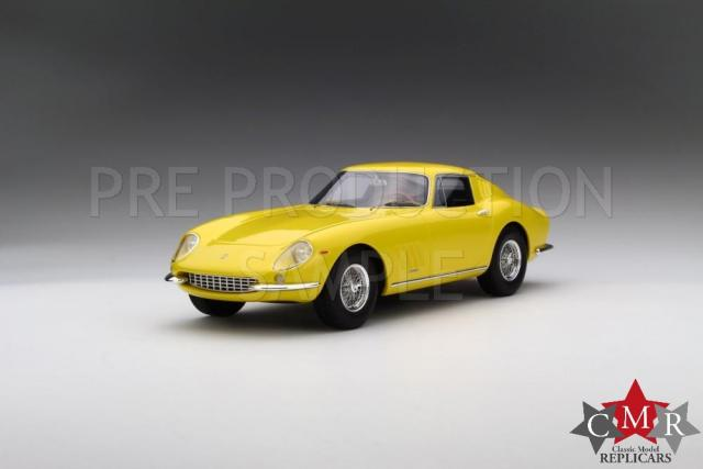 CMR : Preview 2017 : Photos de la future Ferrari 275 GTB Jaune au 1/18