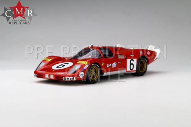 CMR : Preview 2017 : Photos de la Ferrari 512 S Long Tail Le Mans 1970 N°6 au 1/18
