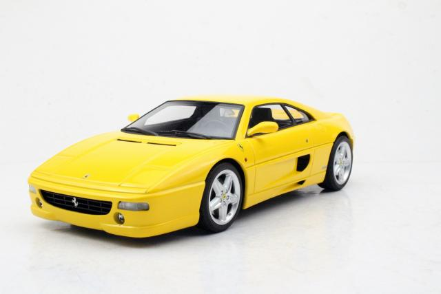Top Marques : TOP96B : Preview Octobre 2019 : Une Ferrari F355 Berlinetta prévue en jaune au 1/18