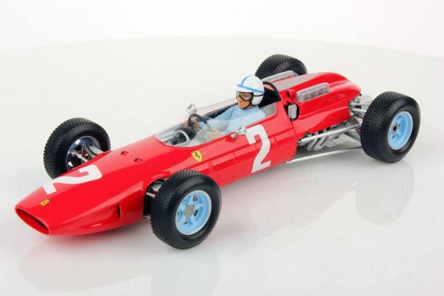 Looksmart : Preview 2017 : Photos de la Ferrari 158 de John Surtees du Grand Prix Italie 1964 au 1/18