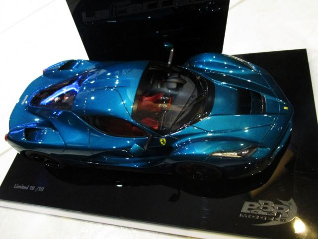 BBR : Photos : Ferrari LaFerrari Artemis Green 1/18