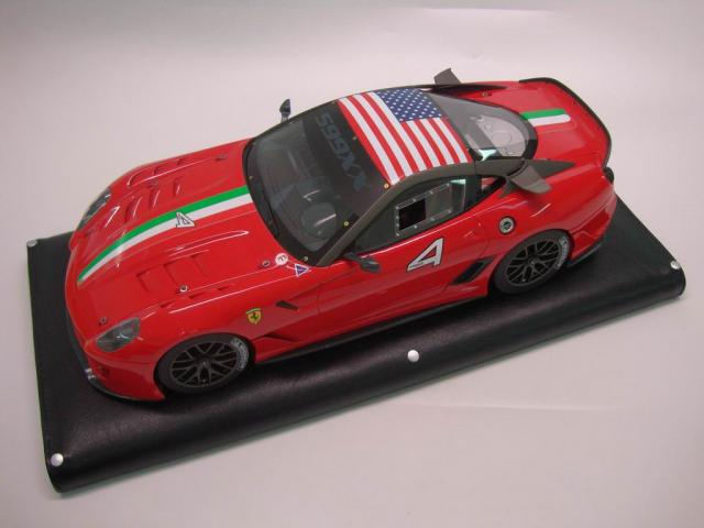 MR Models : Retour sur la Ferrari 599XX #4 USA 1/18