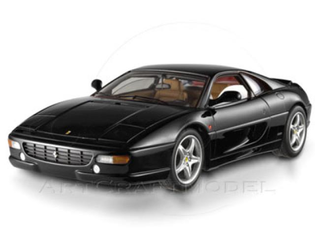 Photo Mattel de la Ferrari F355 Berlinetta Noire 1/18