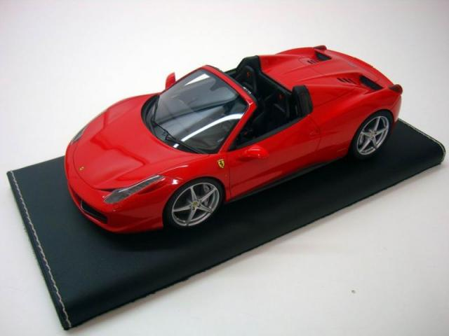 Photo de la Ferrari 458 Italia Spider MR Models Rosso Corsa